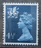 Poštovní známka Wales 1974 Královna Alžběta II. Mi# 20
