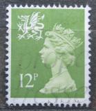 Poštovní známka Wales 1980 Královna Alžběta II. Mi# 28
