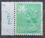 Poštovní známka Wales 1982 Královna Alžběta II. Mi# 35 A