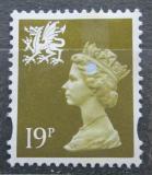 Poštovní známka Wales 1993 Královna Alžběta II. Mi# 64