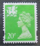 Poštovní známka Wales 1996 Královna Alžběta II. Mi# 68