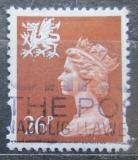 Poštovní známka Wales 1996 Královna Alžběta II. Mi# 69