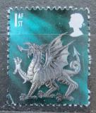 Poštovní známka Wales 1999 Drak Mi# 77 CS
