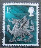 Poštovní známka Wales 2003 Drak Mi# 84