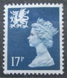Poštovní známka Wales 1990 Královna Alžběta II. Mi# 56