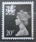 Poštovní známka Wales 1989 Královna Alžběta II. Mi# 53