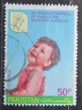 Poštovní známka Pákistán 1980 Kongres dětské chirurgie Mi# 519