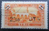 Poštovní známka Sýrie 1938 Náměstí v Damašku přetisk Mi# 431