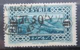 Poštovní známka Sýrie 1926 Kalat Yamoun přetisk Mi# 305