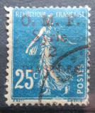 Poštovní známka Sýrie 1920 Rozsévačka přetisk Mi# 122