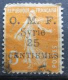 Poštovní známka Sýrie 1922 Rozsévačka přetisk Mi# 182