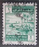 Poštovní známka Irák 1963 Lodě na Tigridu Mi# 351
