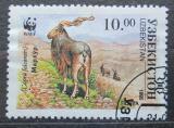 Poštovní známka Uzbekistán 1995 Koza šrouborohá Mi# 62