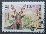 Poštovní známka Uzbekistán 1995 Koza šrouborohá Mi# 63