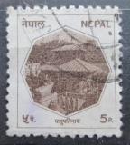 Poštovní známka Nepál 1986 Pashupatinath Mi# 467