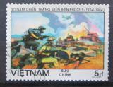 Poštovní známka Vietnam 1984 Bitva u Dien Bien Phu Mi# 1449