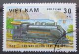 Poštovní známka Vietnam 1983 Parní lokomotiva Mi# 1291