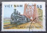 Poštovní známka Vietnam 1983 Parní lokomotiva Mi# 1292