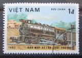 Poštovní známka Vietnam 1983 Parní lokomotiva Mi# 1293