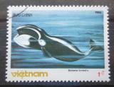 Poštovní známka Vietnam 1985 Plejtvák sejval Mi# 1626
