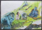 Poštovní známka SAR 2011 Gorily Mi# Block 726 Kat 9.50€