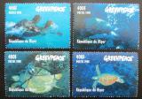Poštovní známky Niger 1998 Mořské želvy Mi# Mi# 1472-75 Kat 10€