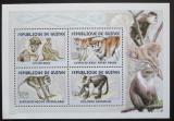 Poštovní známky Guinea 2001 Opice Mi# Mi# 3386-89 Bogen Kat 18€