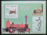 Poštovní známka Mosambik 2009 Staré parní lokomotivy Mi# Mi# Block 247 Kat 10€