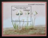 Poštovní známka Benin 1996 Houby Mi# Block 22