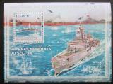 Poštovní známka Mosambik 2009 Lodě Mi# Block 237 Kat 10€