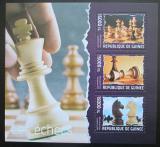 Poštovní známky Guinea 2014 Šachy Mi# 10291-93 Kat 18€