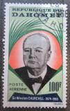 Poštovní známka Dahomey 1965 Winston Churchill Mi# 252