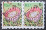 Poštovní známky JAR 1977 Stříbřenec pcháčohlavý pár Mi# 516 A