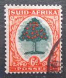 Poštovní známka JAR 1937 Pomerančovník Mi# 88 aI