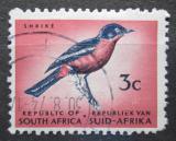 Poštovní známka JAR 1967 Ťuhýkovec pruhokřídlý Mi# 368