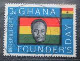 Poštovní známka Ghana 1960 Prezident Kwame Nkrumah Mi# 88