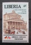 Poštovní známka Libérie 1987 Divadlo v Berlíně Mi# 1361