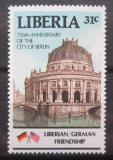 Poštovní známka Libérie 1987 Muzeum v Berlíně Mi# 1362