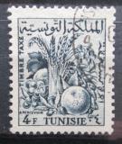Poštovní známka Tunisko 1957 Zemědělské produkty, doplatní Mi# 70