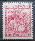 Poštovní známka Tunisko 1957 Zemědělské produkty, doplatní Mi# 72