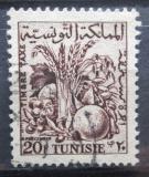 Poštovní známka Tunisko 1957 Zemědělské produkty, doplatní Mi# 73