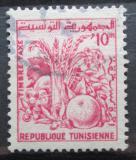 Poštovní známka Tunisko 1960 Zemědělské produkty, doplatní Mi# 80