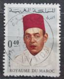 Poštovní známka Maroko 1968 Král Hassan II. Mi# 608