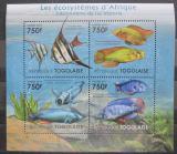 Poštovní známky Togo 2011 Ryby z Viktoriina jezera Mi# 4177-80 Kat 12€