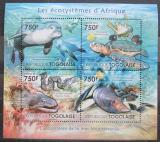 Poštovní známky Togo 2011 Středomořská fauna Mi# 4197-4200 Kat 12€