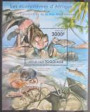 Poštovní známka Togo 2011 Středomořská fauna Mi# Block 651 Kat 12€