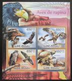 Poštovní známky Guinea-Bissau 2012 Dravci Mi# 6077-80 Kat 10€