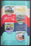 Poštovní známky Svatý Tomáš 2015 Parní lokomotivy Mi# 6450-53 Kat 12€