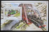 Poštovní známka Niger 2015 Parní lokomotivy Mi# Block 454 Kat 12€