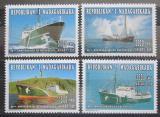 Poštovní známky Madagaskar 1996 Lodě Greenpeace Mi# 1794-97 Kat 10€